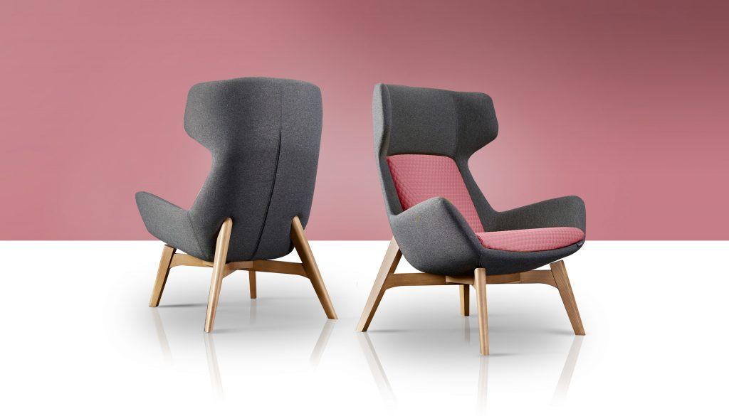 Klyro High Back Single Seater - Gresham